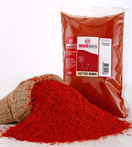 Acı Toz Biber - Kırmızı Toz Biber 500g